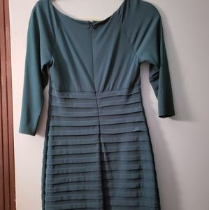 *BOGO FREE* fitted green dress